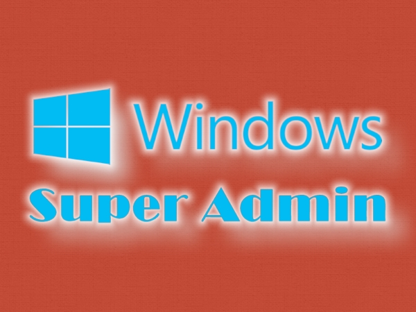 Windows 8.1: utente Super Administrator